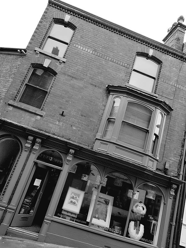 Hornseys Gallery Front