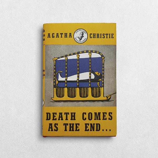 Agatha Christie Book - Death Comes As The End