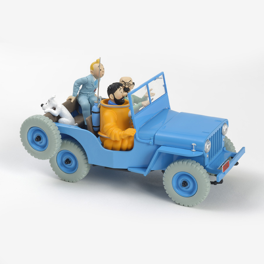 Tintin Vehicle Scale: 1/24 - The CJ2A Willys Jeep