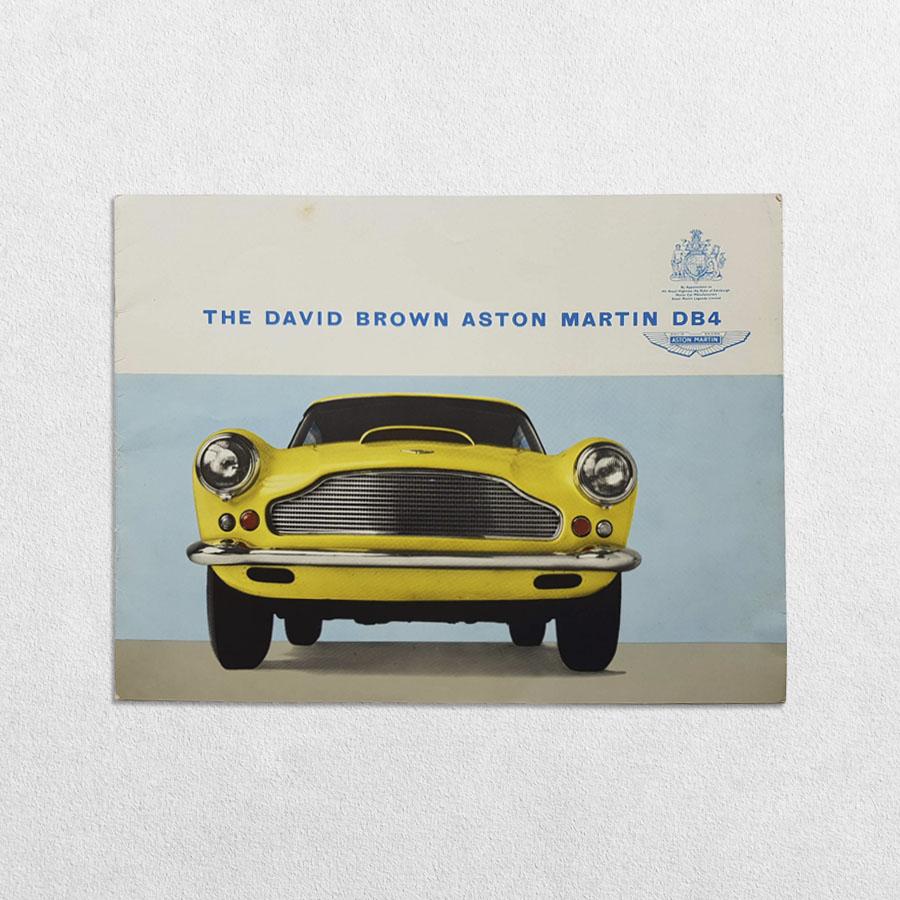 Ephemera - The David Brown Aston Martin DB4 Sales Brochure And Retail Price List, 1958 & 1959