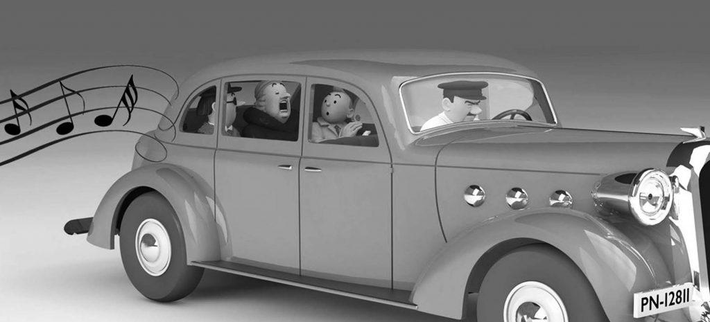 Whats new Tintin car