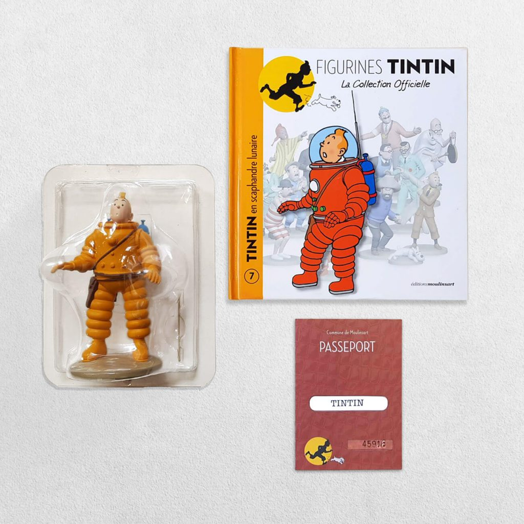 Tintin Figurines - 7 - Tintin