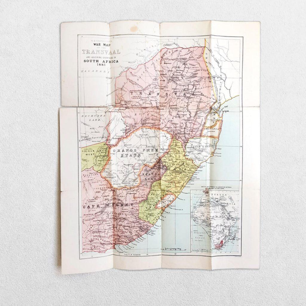 Maps - W. H. Smith & Son's War Map