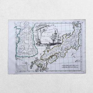 Carte Du Japon Et De La Coree