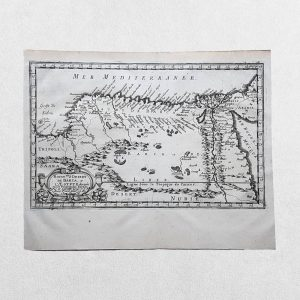 Egypt And Libya- Royaume Et Desert De Barca Et L'Aegypte