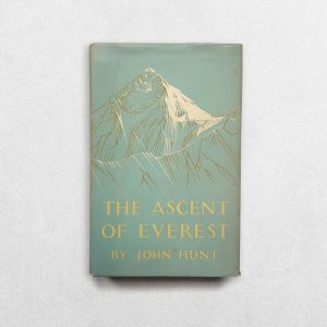 The Ascent Of Everest Signed By John Hunt - front